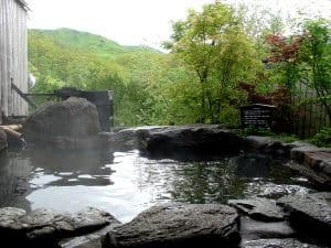 Japanese Onsen Outdoors