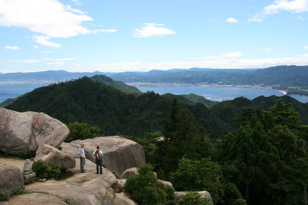 Miyajima - Top of Mount Misen