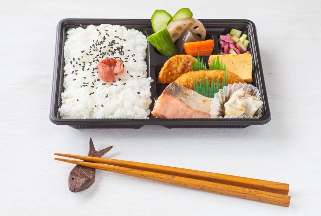 Japanese Foods Bento Lunch Box