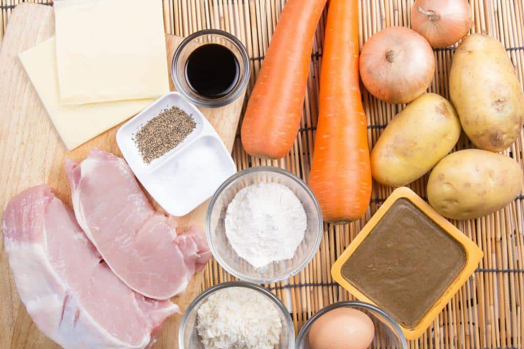 How to Make Japanese Curry - Ingredients