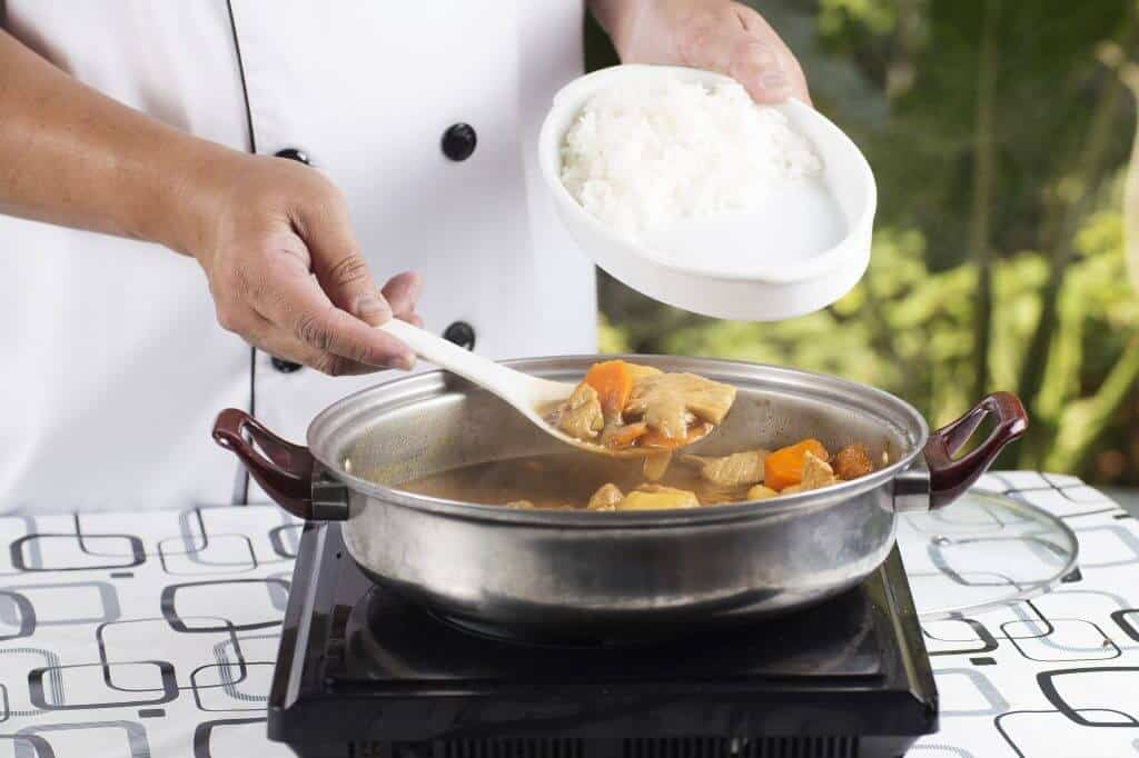 How to Make Japanese Curry - Serving the Curry