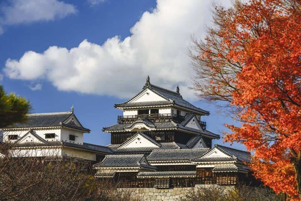 Top 10 Japanese Castles - Matsuyama Castle