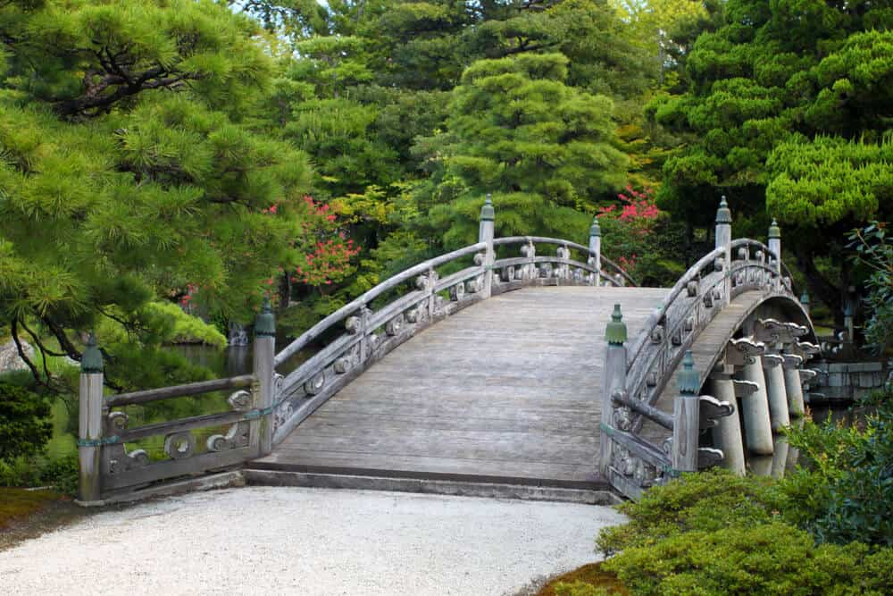 Nijo Castle - Bridge