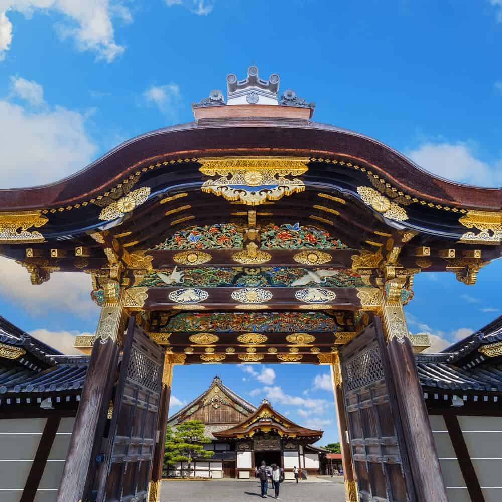 Nijo Castle - Gate