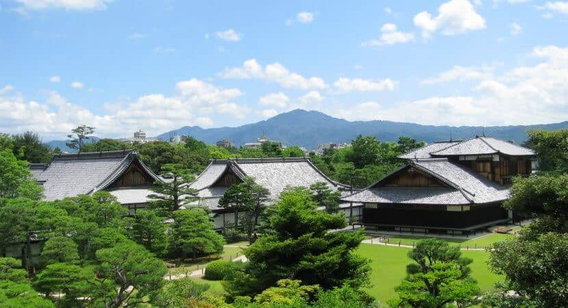 Nijo Castle - Nature