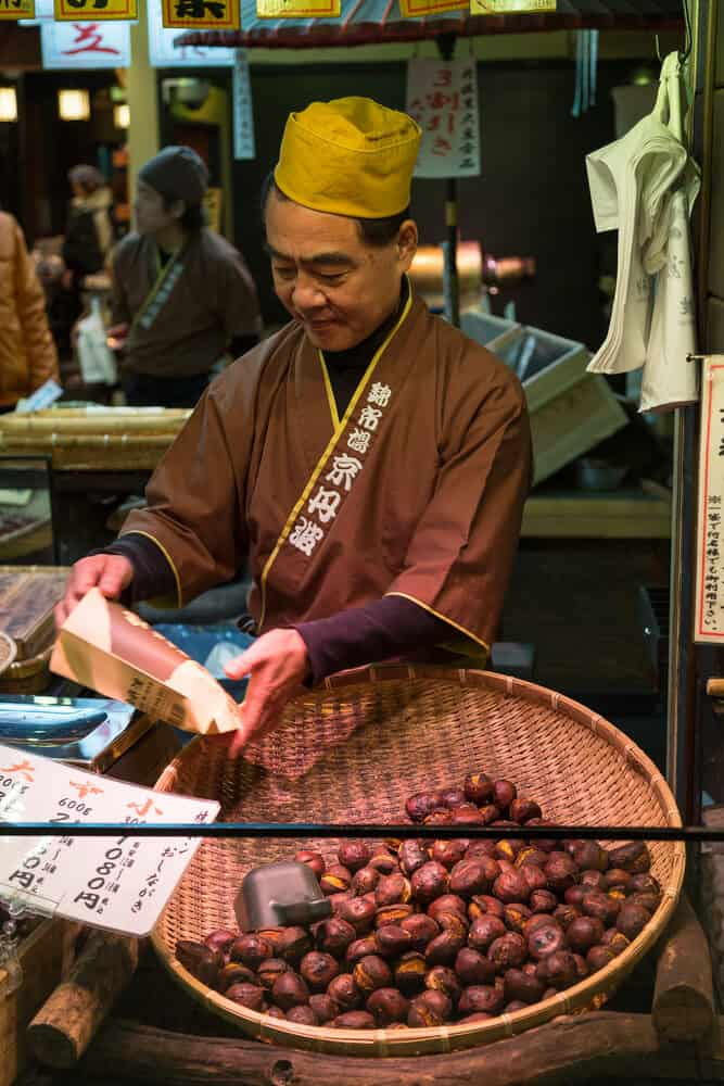 Best Time to Visit Japan - Fall Chestnuts