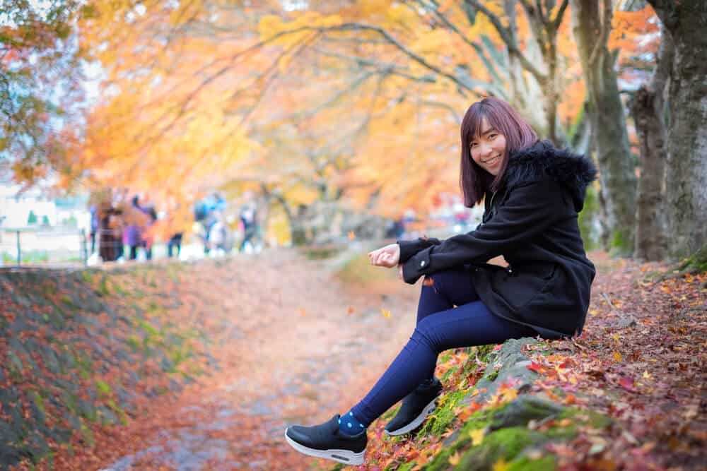 Best Time to Visit Japan - Fall Temperature