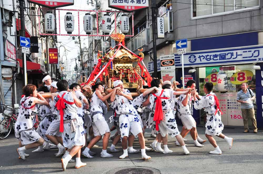Best Time to Visit Japan - Summer Osaka Tenjin Festival