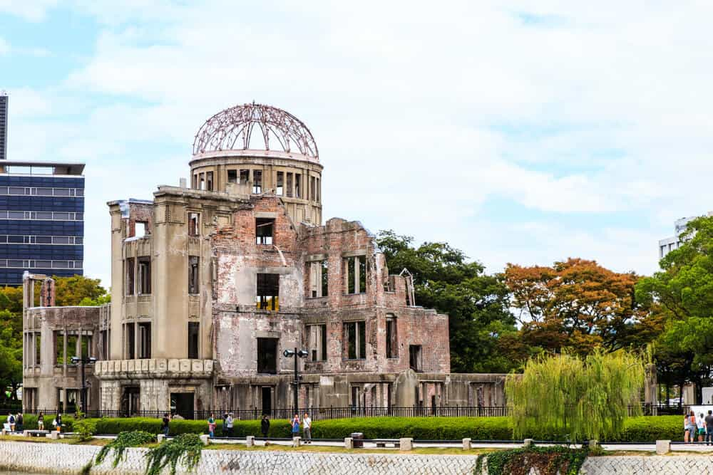 Hiroshima Peace Memorial Park - A -Bomb Dome Whole