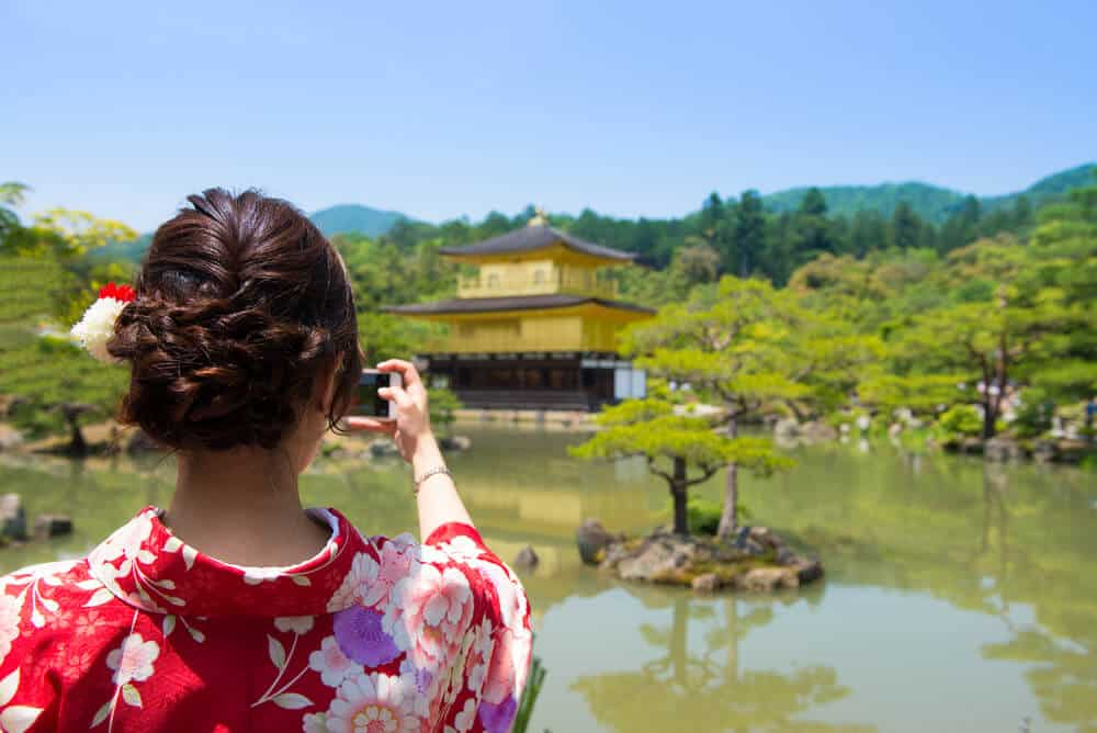 Kinkakuji - Taking Pictures