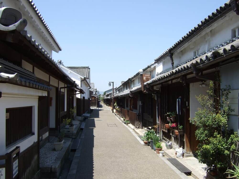 Machiya Houses Row