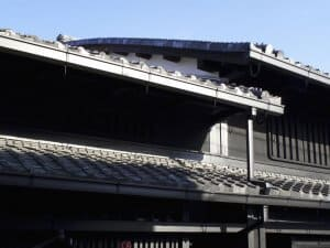 Naramachi House Roof