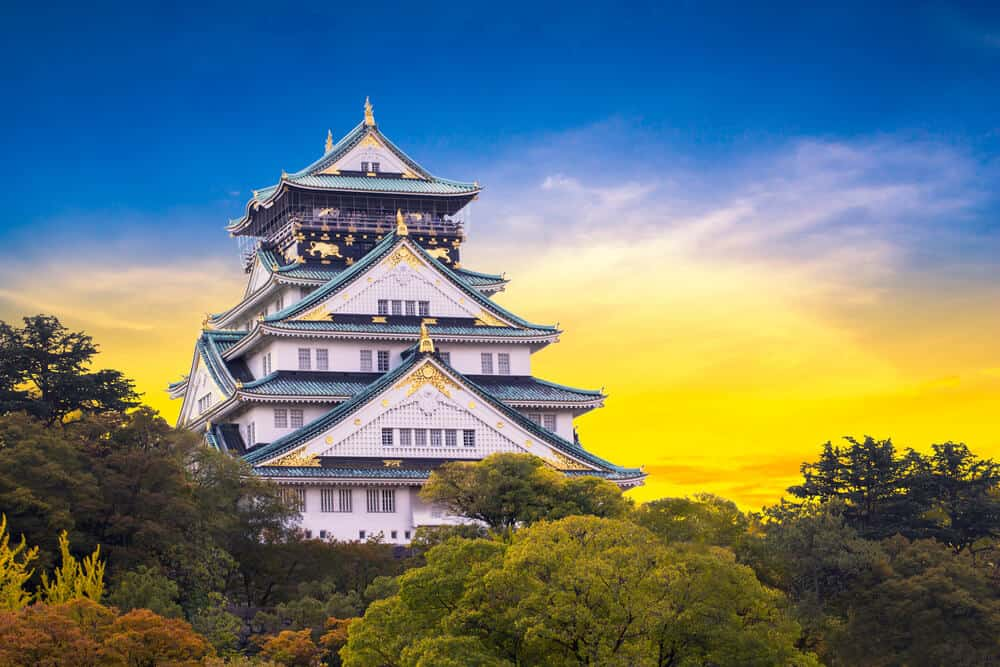 Osaka Castle - Autumn