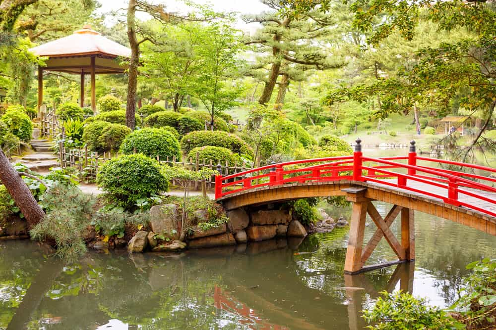 Shukkeien Garden - Bridge