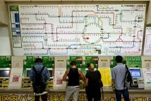 Japan on a Budget - Buying Train Tickets