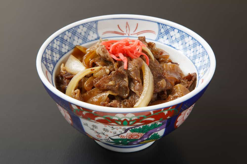 Japan on a Budget - Gyudon Beef Bowls