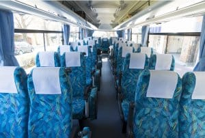 Japan on a Budget - Japan Bus Seats