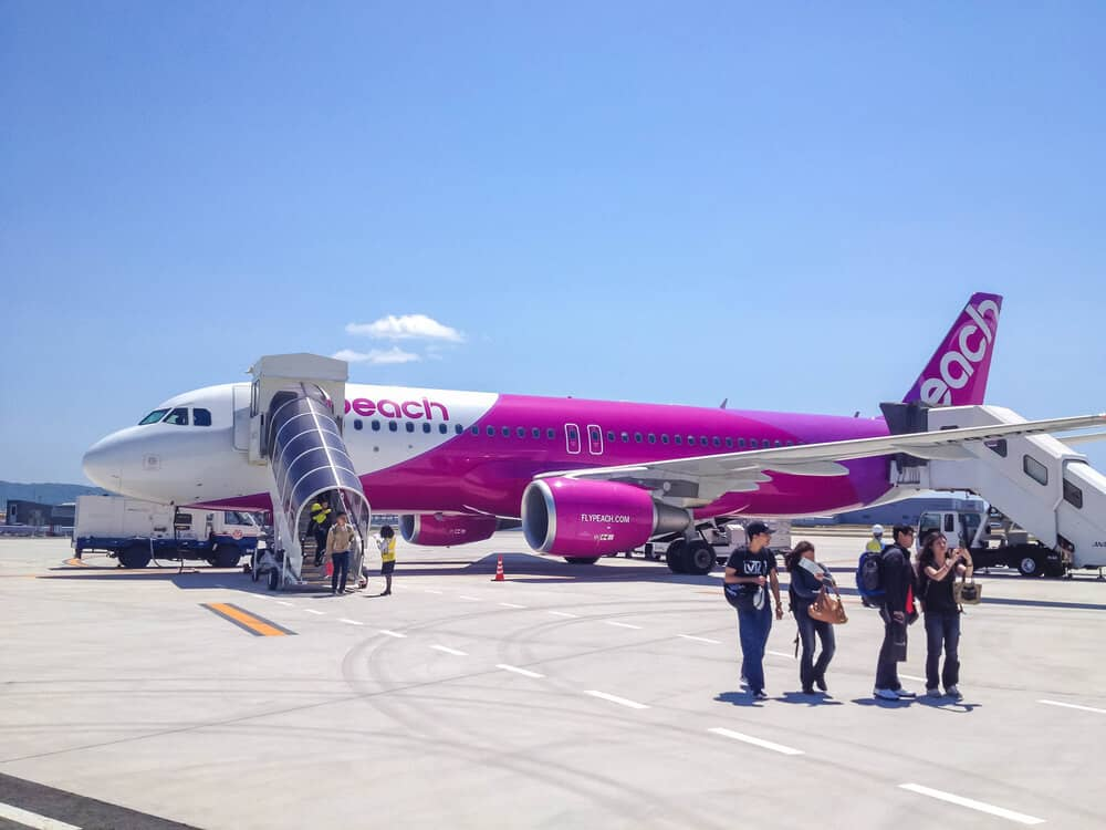 Japan on a Budget - Peach Cheap Airlines
