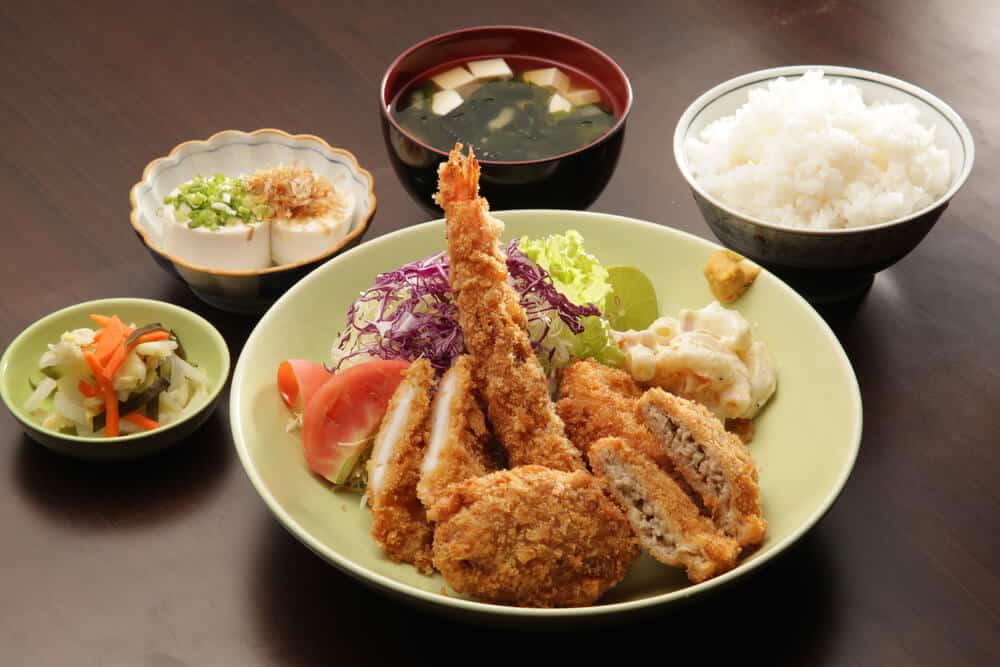 Japan on a Budget - Teishoku Set Meals