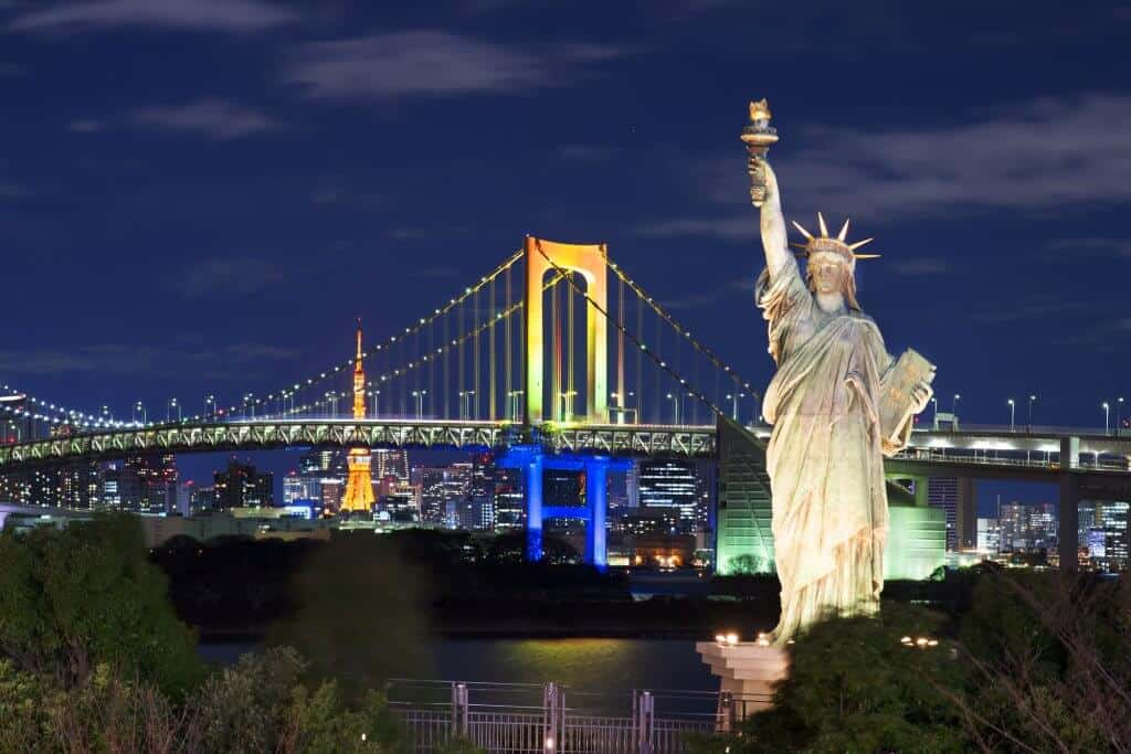 Free Things to do in Tokyo - Odaiba