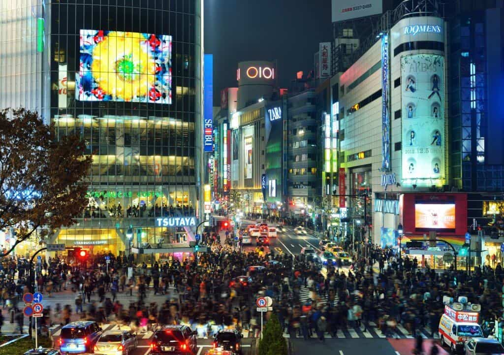 Free Things to do in Tokyo - Shibuya Crossing