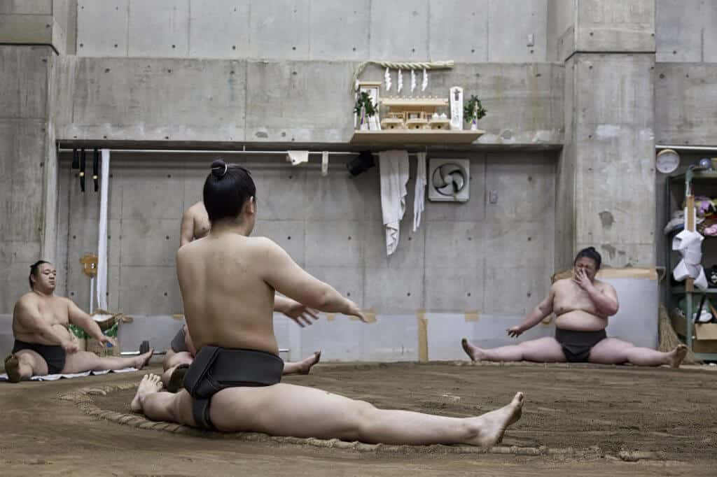 Free Things to do in Tokyo - Sumo Practice