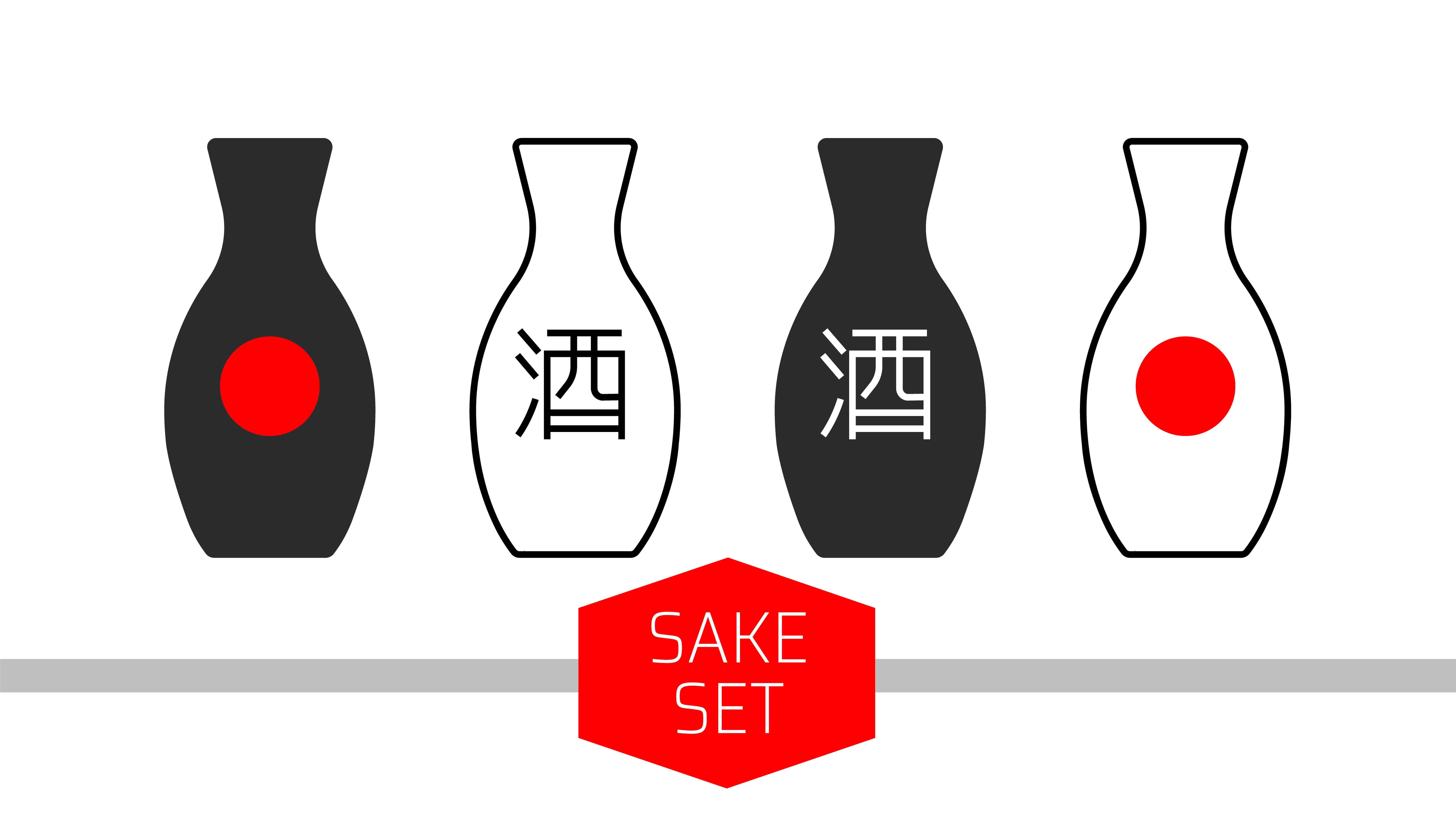 Japanese Kanji Sake Alcohol
