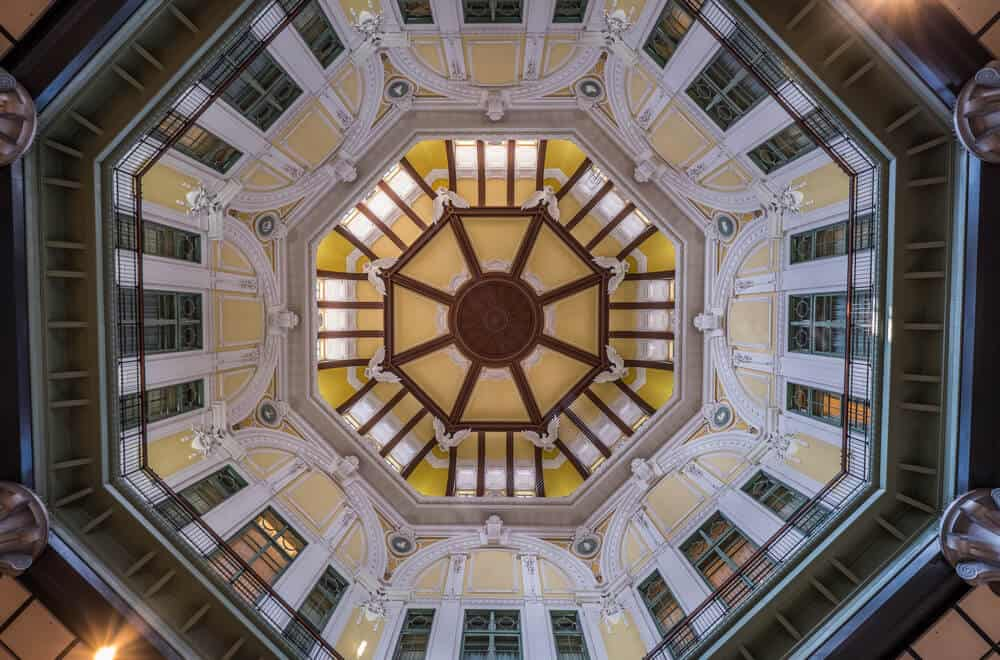 Tokyo Station Dome Ceiling