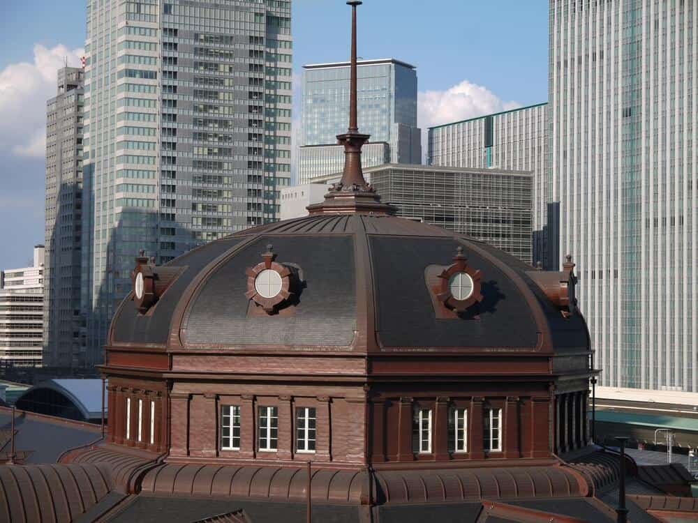 Tokyo Station Dome Outside