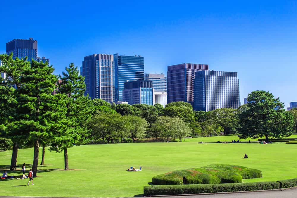 Imperial Palace Gardens East Garden
