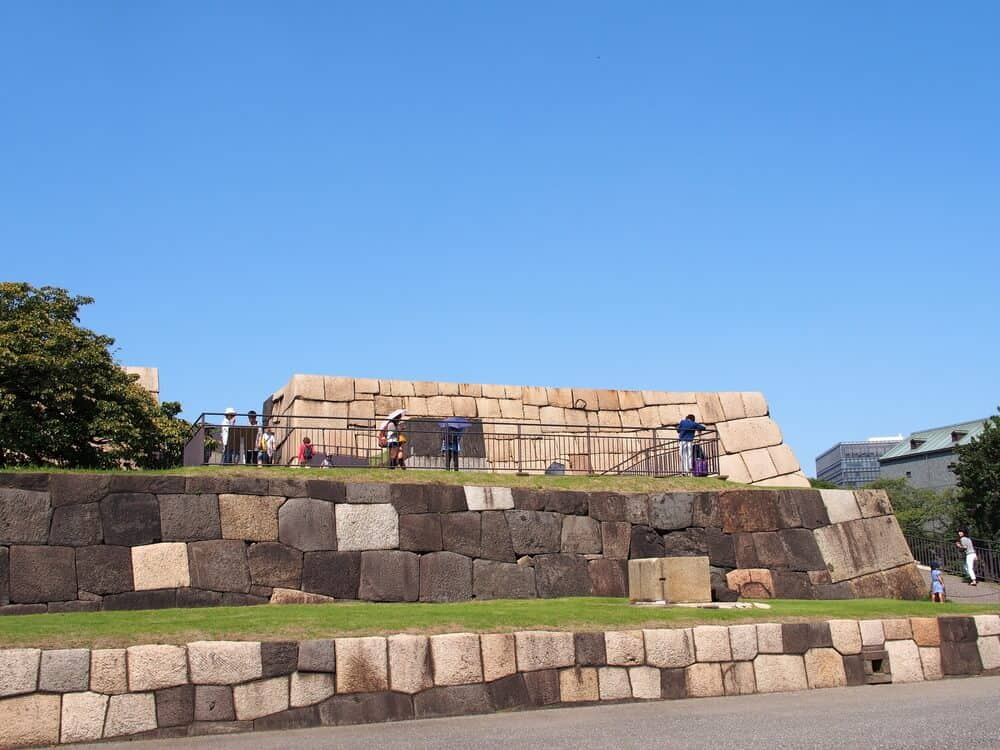 Imperial Palace Tokyo Castle Tower Ruins