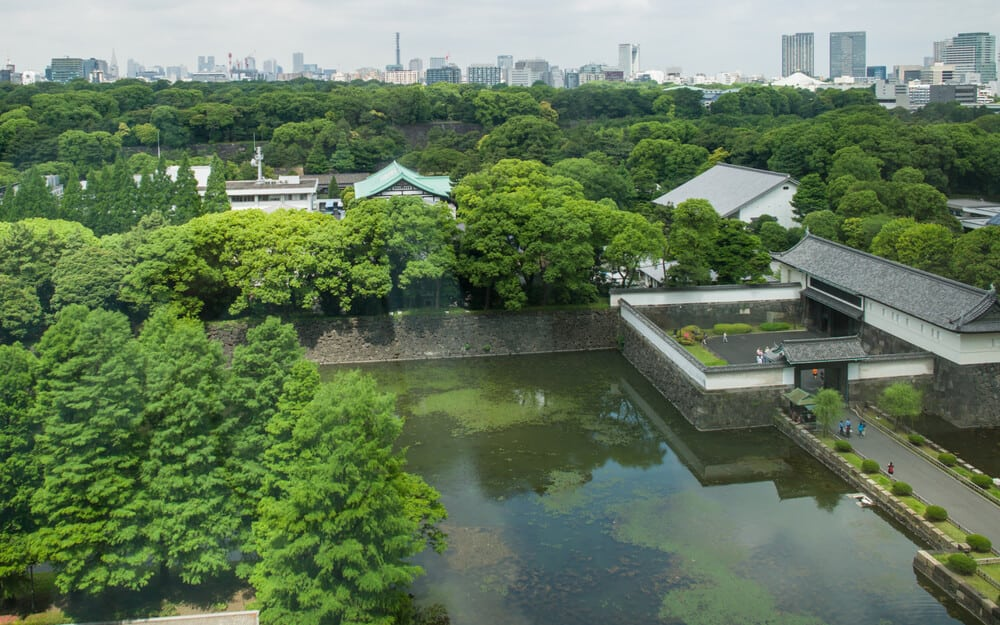 Imperial Palace Tokyo Moat
