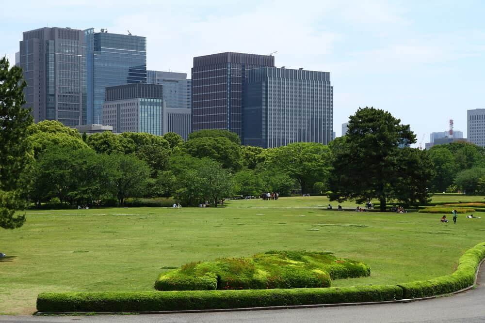 Imperial Palace - Tokyo Outer Gardens
