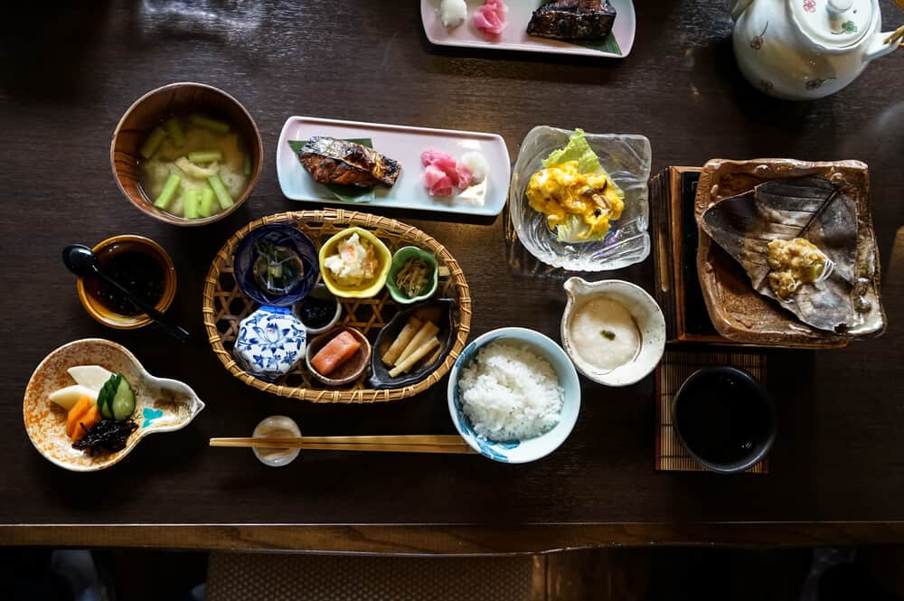 Reasons to Stay at a Ryokan Food Breakfast