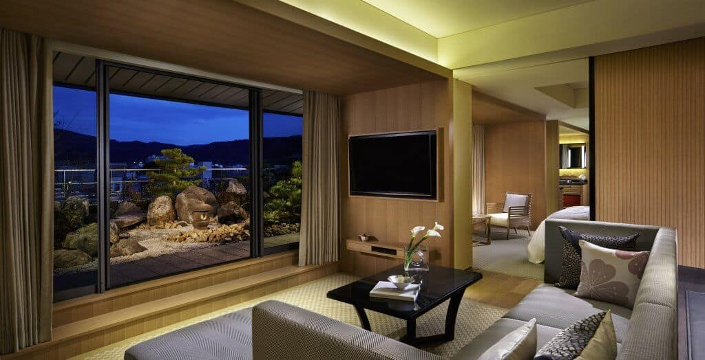 Ritz-Carlton Kyoto Garden Terrace Suite Living Room