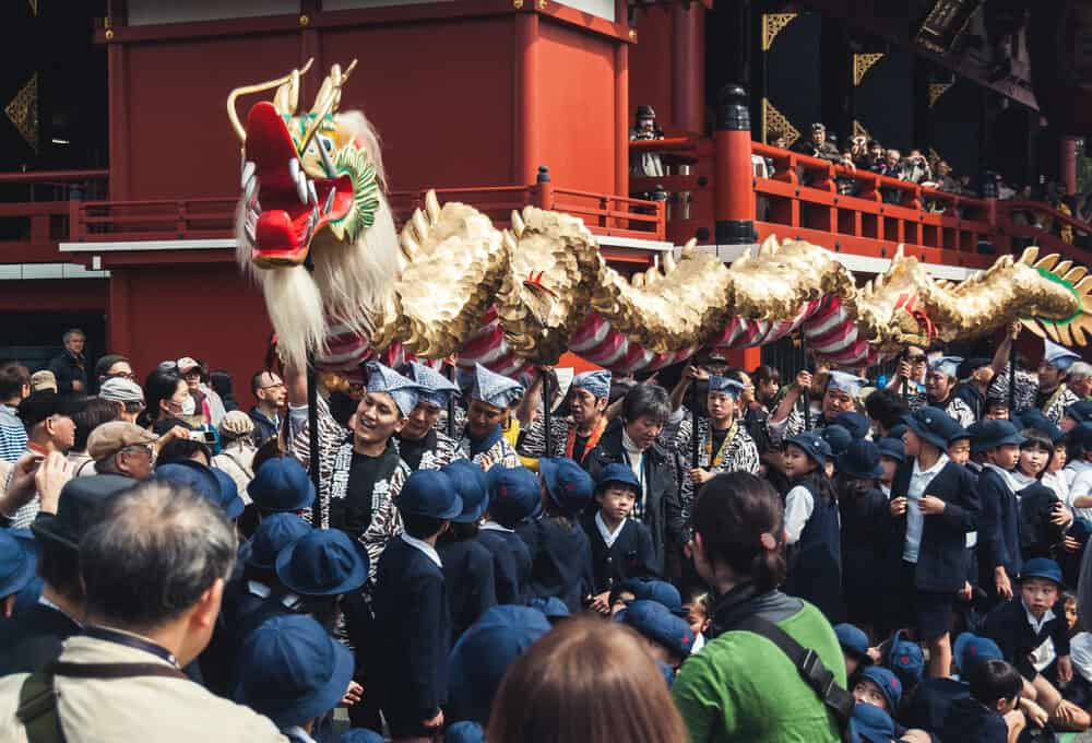 Sensoji Golden Dragon Dance