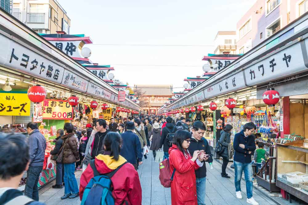 Sensoji Shopping Street