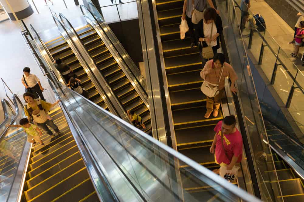 Solamachi Floors Escalator