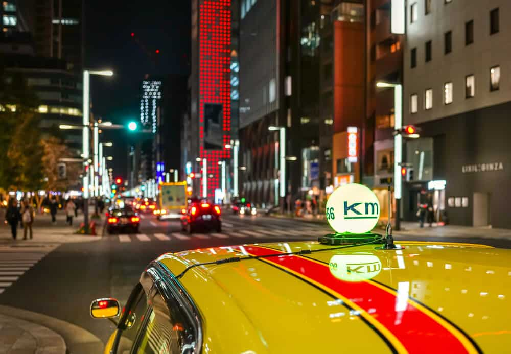 Tokyo Station by Taxi