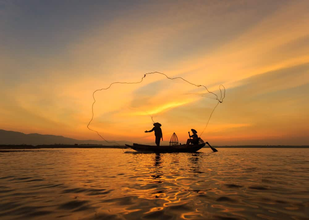 Two Fishermen Net