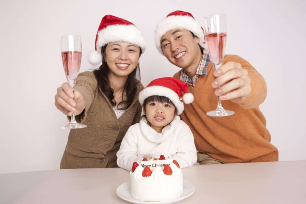 Christmas in Japan Christmas Cake Family
