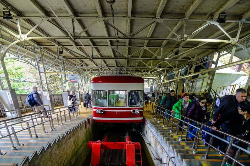 Koyasan - Cable Car