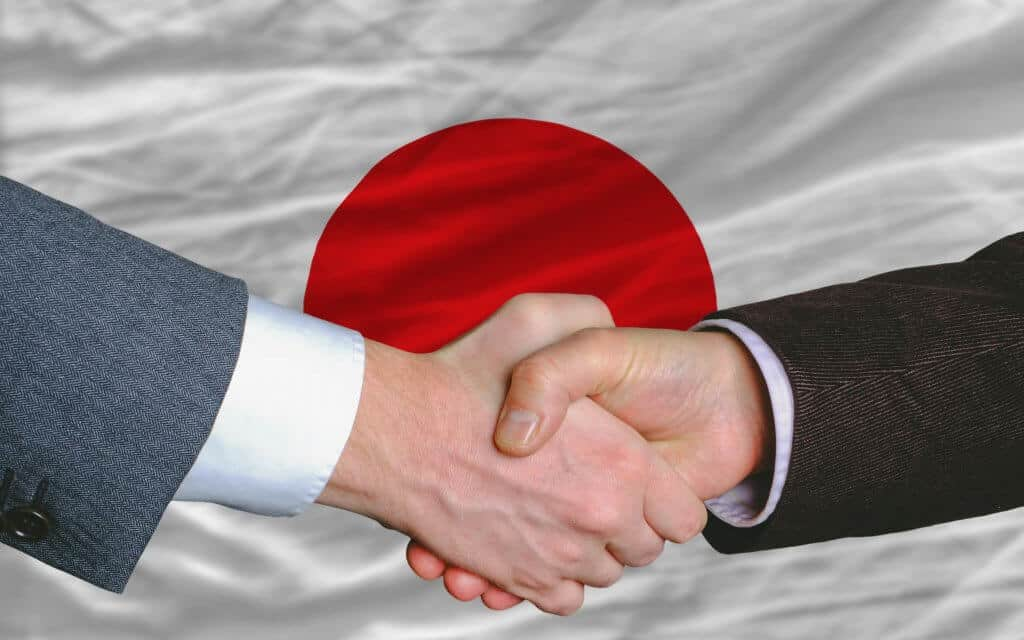 Meeting People in Japan - Japan Handshake