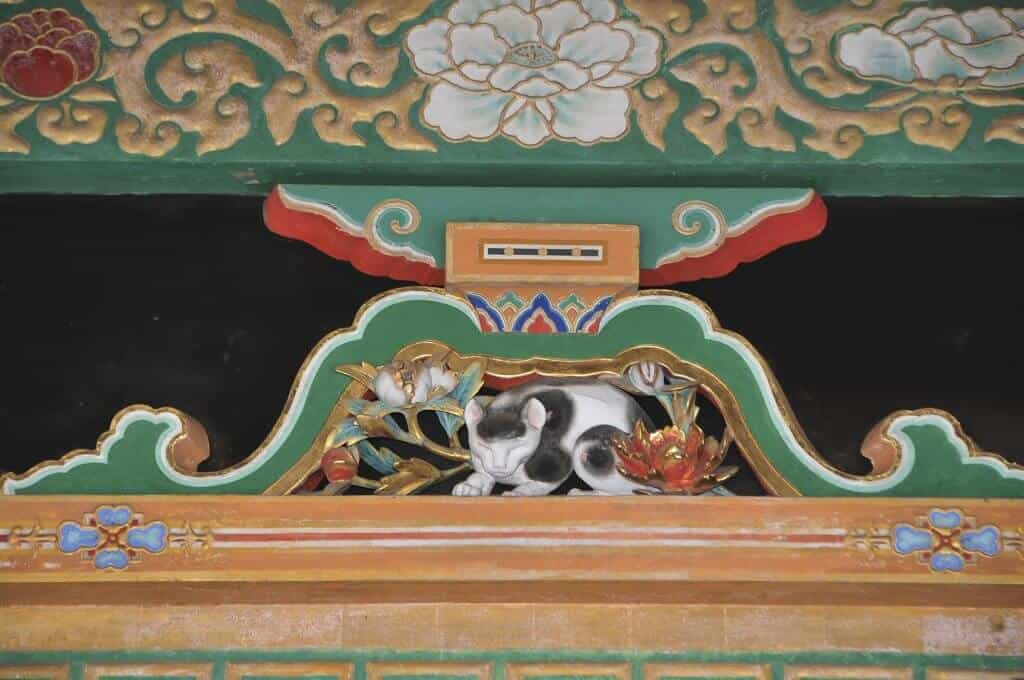 Nikko Toshogu Sleeping Cat Statue