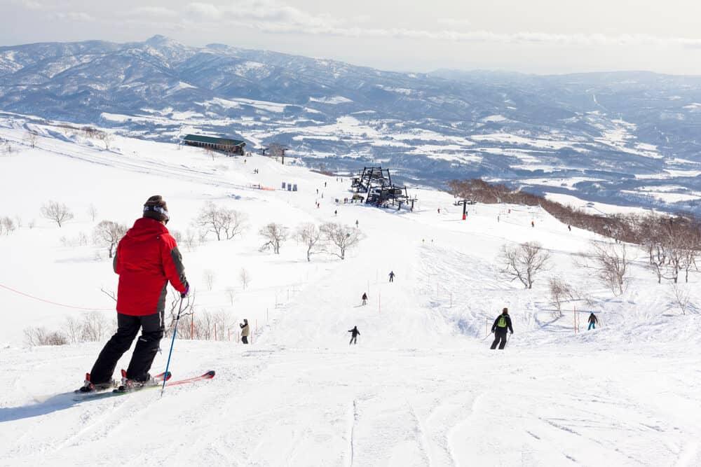 Niseko Annupuri Skiing