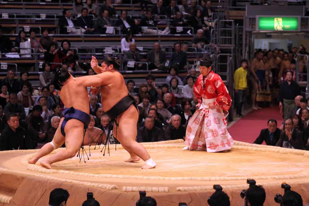 Sumo in Tokyo Match Referee