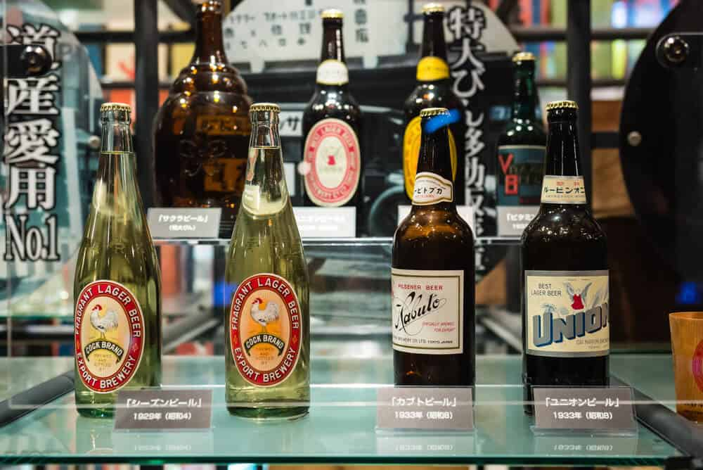 Things to Do in Sapporo Beer Museum Beers