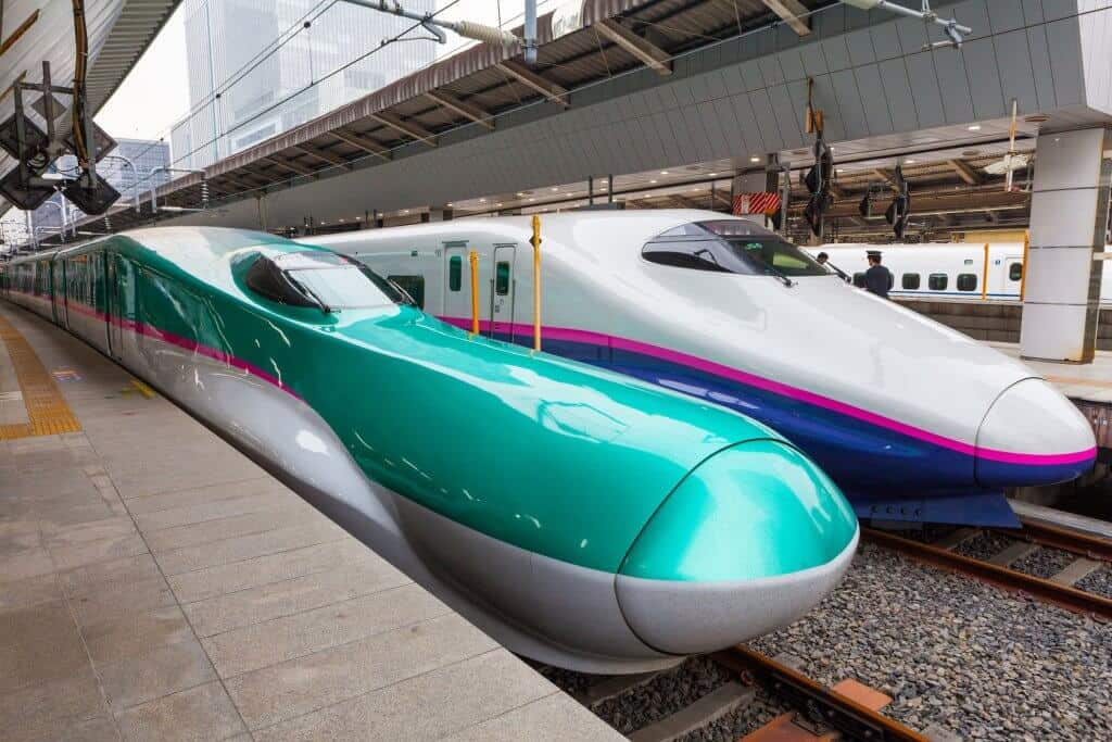 Things to Do in Sapporo Hayabusa Bullet Train