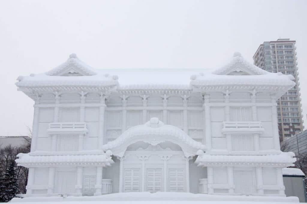 Things to Do in Sapporo Huge Snow Creation