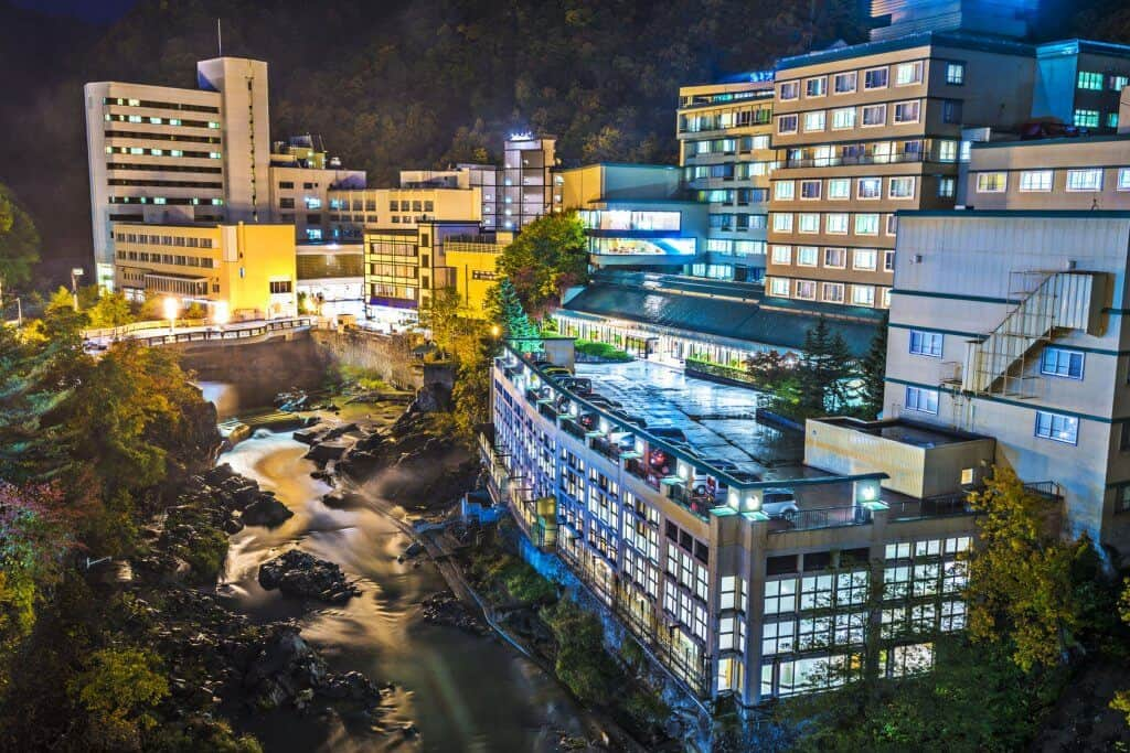 Things to Do in Sapporo Jozankei Onsen at Night
